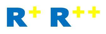 R+R++ logos V